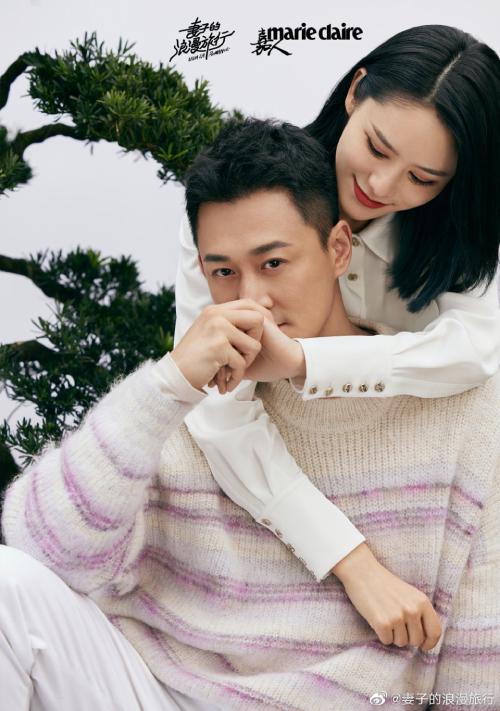 Kém chồng 10 tuổi, Trương Hinh Nguyệt và Lâm Phong rất đẹp đôi.