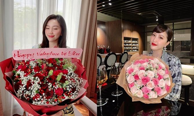 Vào các dịp lễ, chồng doanh nhân của Bảo Thy luôn khiến cô bất ngờ với các bó hoa tươi theo đúng sở thích của Bảo Thy. Thậm chí dịp Valentine, anh còn tặng liền hai bó hoa cho cô, đưa cô đi ăn món cô thích ở nhà hàng sang trọng.