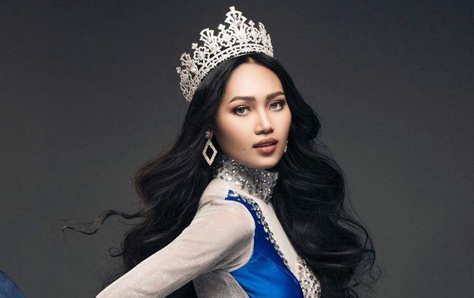 Hoa hậu Hòa bình Myanmar Han Lay.