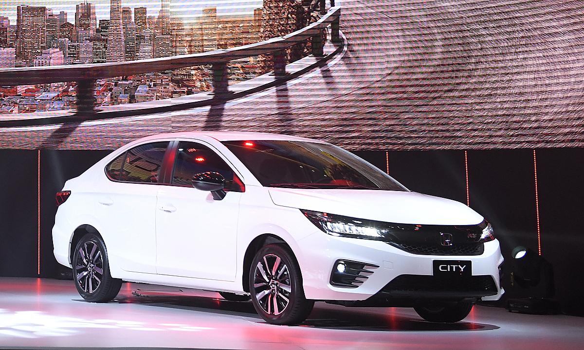Honda City 2021 ra mắt thị trường Việt hồi cuối năm ngoái.