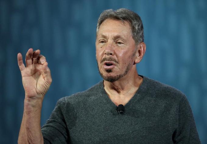 Nhà đồng sáng lập Oracle Larry Ellison. Ảnh: Forbes.