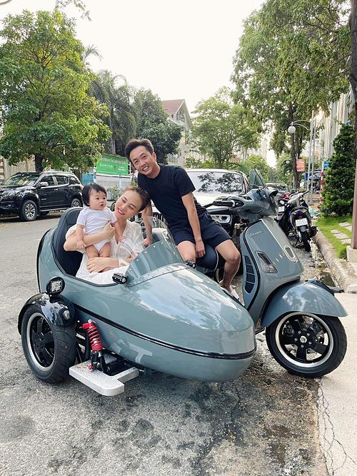 Chiếc xe ba bánh độc lạ của gia đình Cường Đôla.