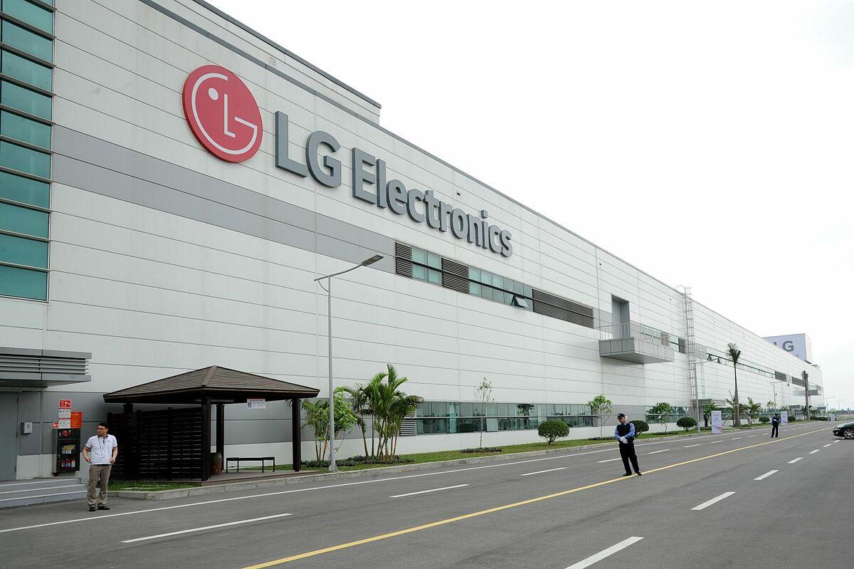 Nhà máy LG Electronics tại Hải Phòng.