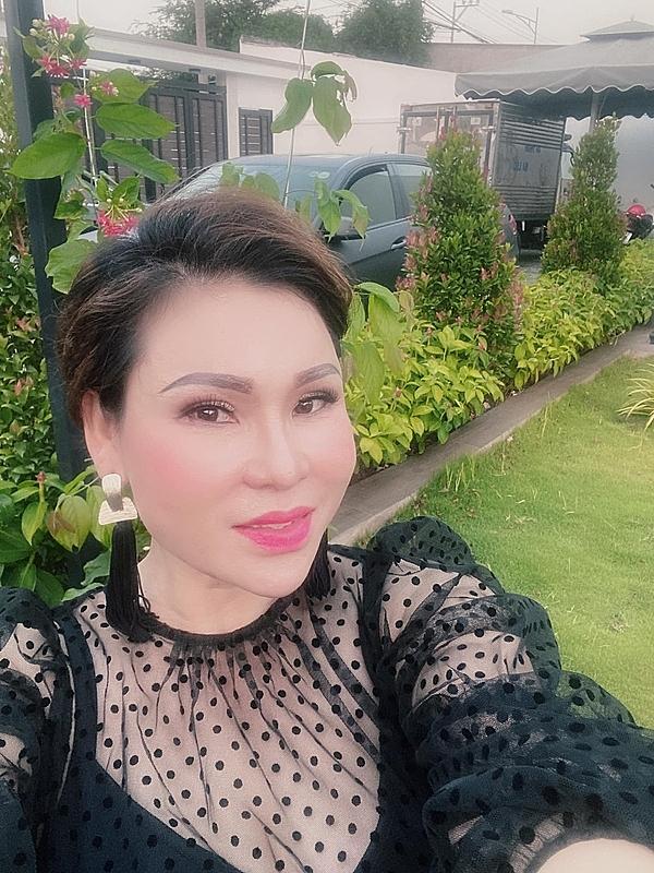 Nữ đại gia Lâm Thị Thu Trà.