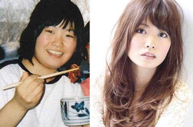 Ota Yoko từng nặng đến 74 kg.