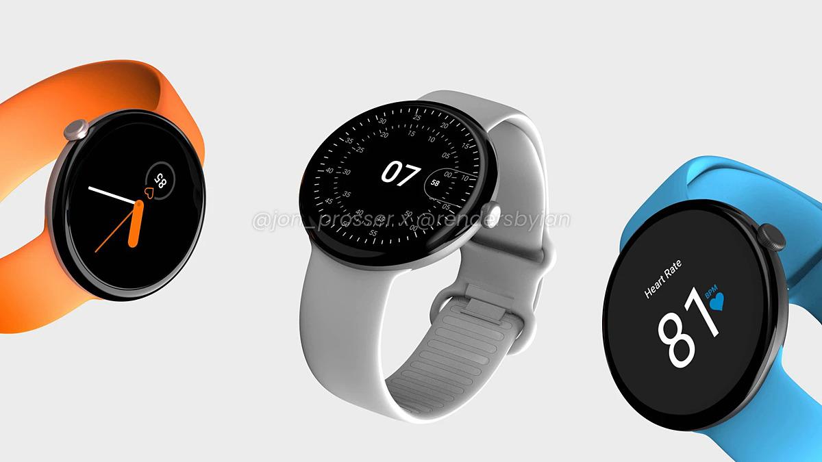 Hình ảnh được cho là smartwatch sắp ra mắt của Google. Ảnh: Phonearena