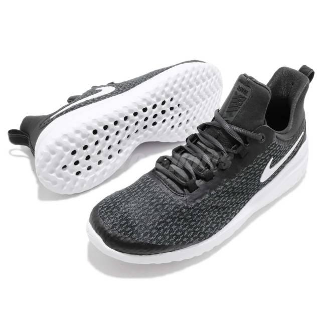 Giày chạy bộ nam Nike Renew Rival  AA7400-001 giảm 32% còn 1,599 triệu đồng; chất liệu thoáng khí cả mặt trong và ngoài; đế làm bằng cao su tổng hợp, chống trơn trượt trong mọi hoàn cảnh thời tiết.