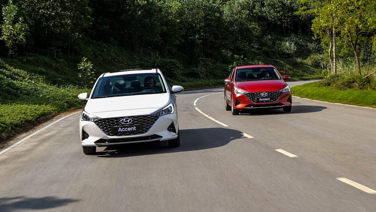 Hyundai Accent mới lăn bánh tại Việt Nam. Ảnh: TC Motor