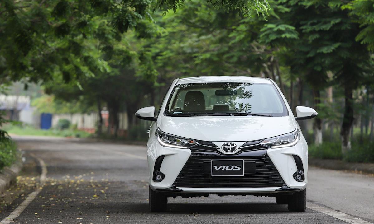 Toyota Vios mới tại Hà Nội. Ảnh: Ngọc Tuấn