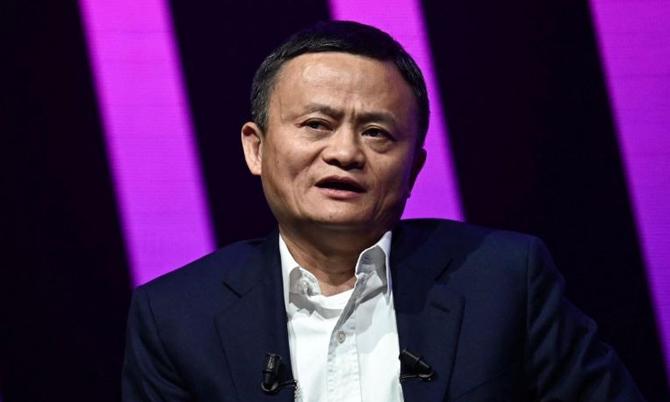 Jack Ma, nhà sáng lập Alibaba. Ảnh: Bloomberg.