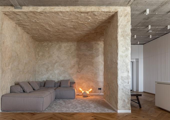 Căn hộ tại Kyiv, Ukraine 98 m2 được thiết kế, thi công bởi Makhno Studio năm 2020.
