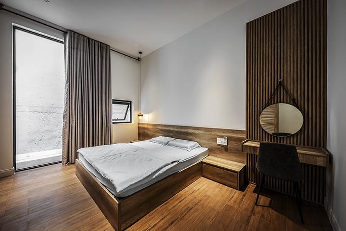 Phòng ngủ của cặp vợ chồng.