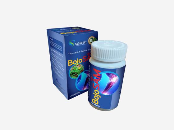 Sâm xương khớp BojoSAM giảm 30% còn 459.900 đồng; dùng cho người đau nhức khớp. Giấy phép quảng cáo số 1741/2020/XNQC-ATTP do Cục An toàn thực phẩm, Bộ Y tế cấp ngày 3/6/2020.