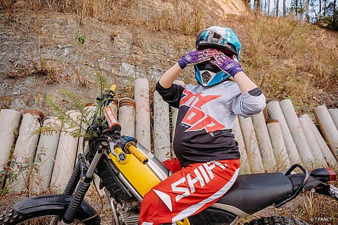 Vốn đam mê du lịch phượt bụi, chị Yến nảy ý tưởng chụp ảnh mang bầu trong một chuyến phượt gần.