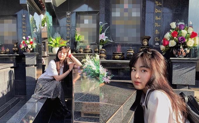 Hình ảnh khiến Khánh Vân nhận nhiều chỉ trích.