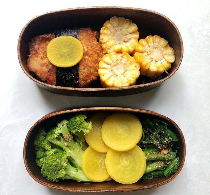 Vợ số hưởng với hộp cơm trưa chồng nấu  - 6