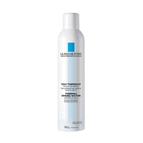 Xịt khoáng làm dịu và bảo vệ da La Roche-Posay Thermal Spring Water Sensitive Skin có dung tích đến 300 ml, hiện ưu đãi gảim 20% so với giá gốc còn 320.000 đồng. Nước khoáng giàu chất chống oxy hóa, hỗ trợ chăm sóc, làm mềm da và chống kích thích hiệu quả. Sản phẩm không chứa paraben, không sulfate, không hương liệu, không chất bảo quản và không chứa xà phòng.
