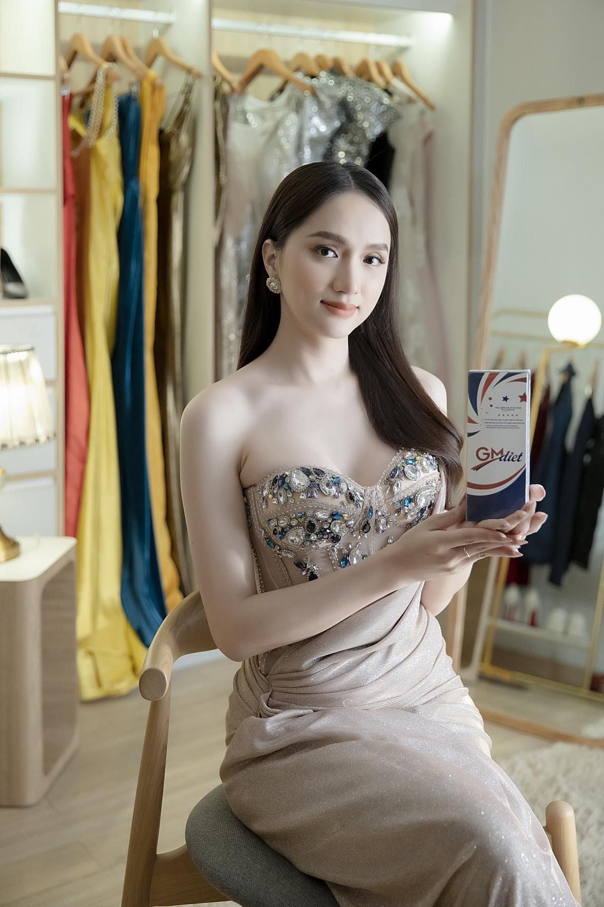 Hoa hậu Hương Giang cũng là một tín đồ của GM Diet.