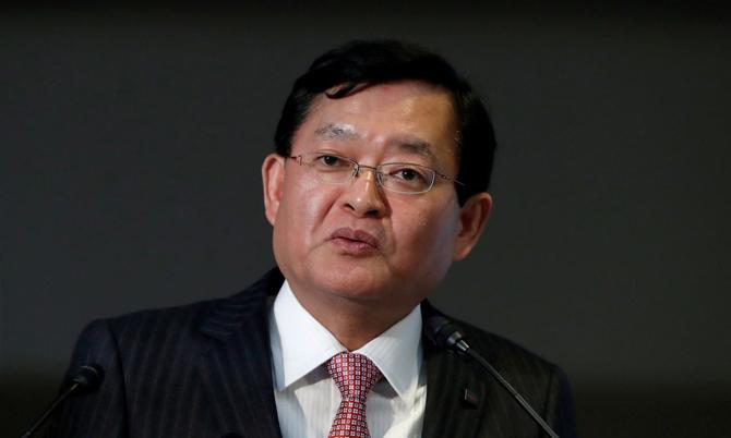 CEO Toshiba Nobuaki Kurumatani. Ảnh: JP.
