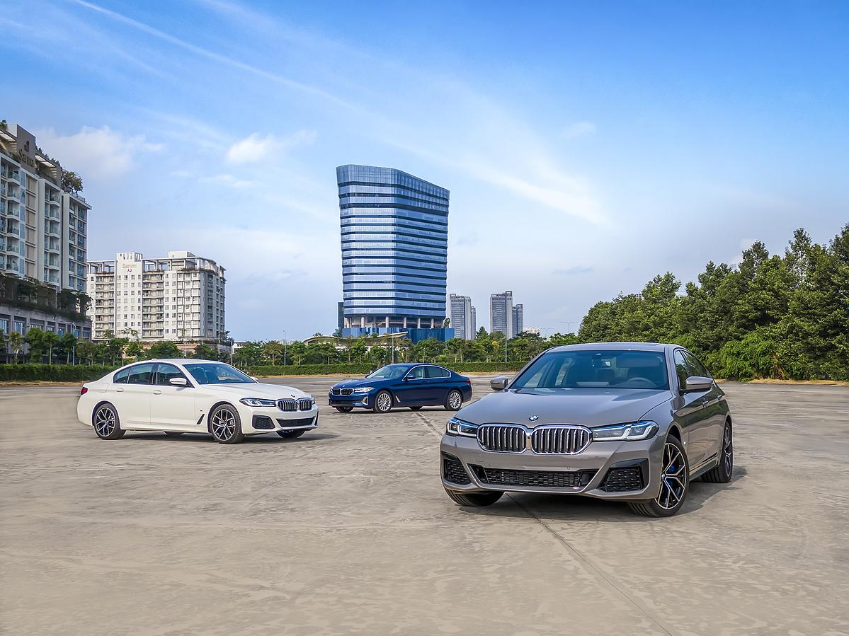 Ba phiên bản BMW 5 Series 2021 tại Việt Nam.