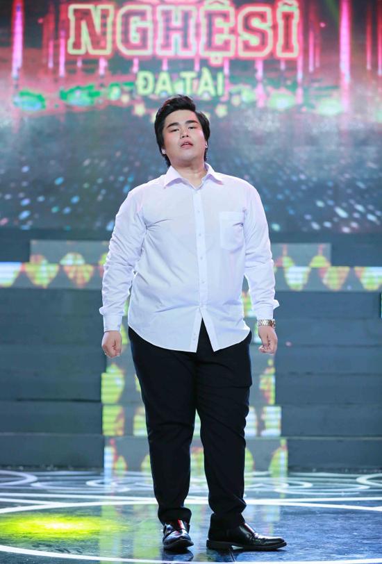 Nguyễn Đình Vũ từng nặng hơn 100 kg, là ca sĩ béo nhất nhì showbiz Việt.