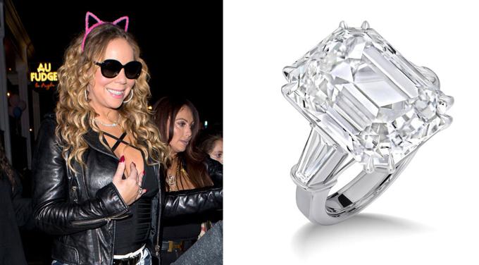 Mariah Carey giữ chiếc nhẫn 10 triệu USD và được tỷ phú James Packer bồi thường thêm 50 triệu USD.