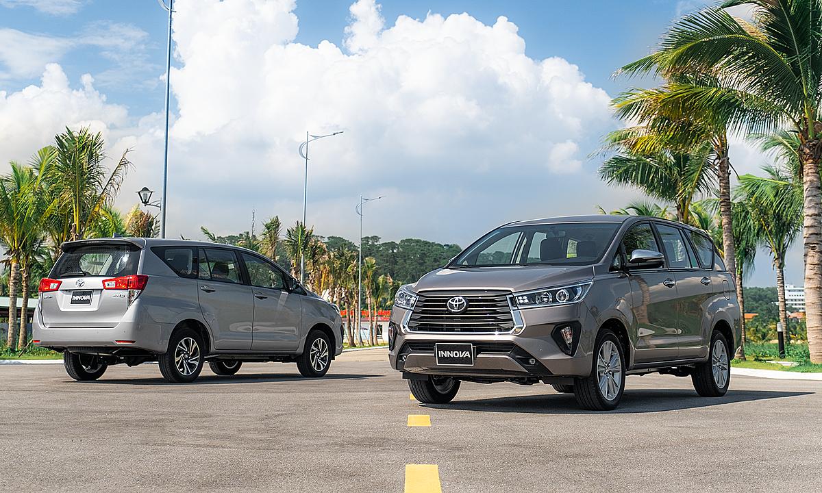 Toyota Innova bản nâng cấp ra mắt năm 2020. Ảnh: TMV