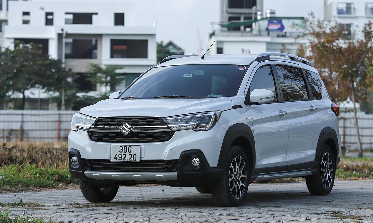 Suzuki XL7 tại Hà Nội. Ảnh: Lương Dũng