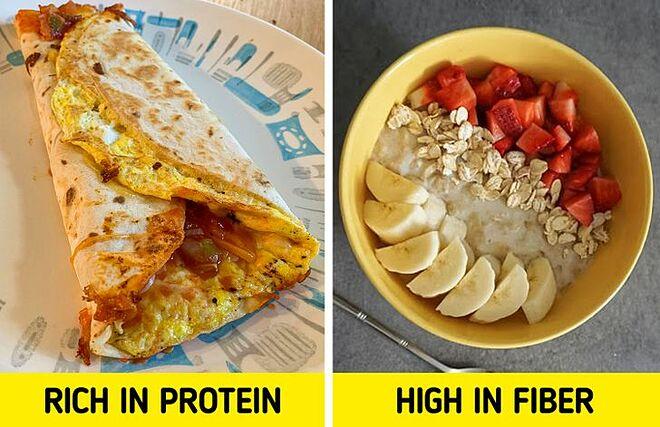 Ăn sáng đều đặn và đủ chất sẽ giúp bạn giảm cân.