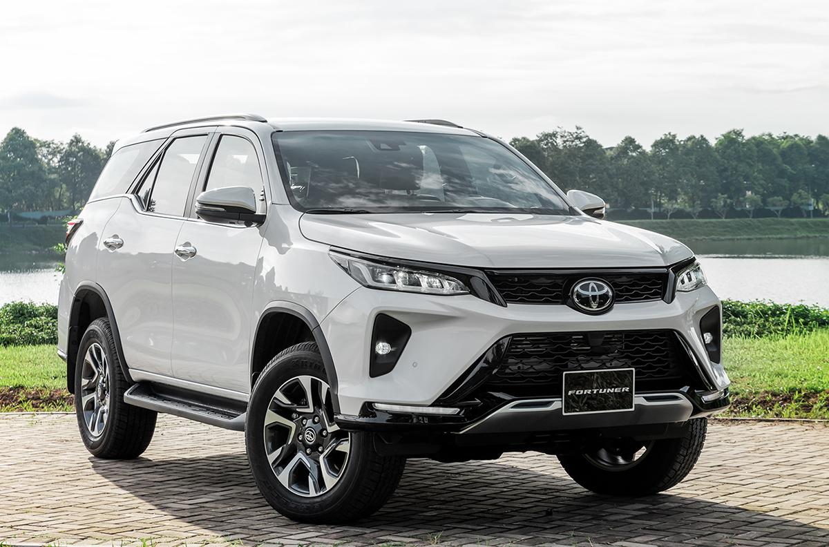 Toyota Fortuner tại Hà Nội.