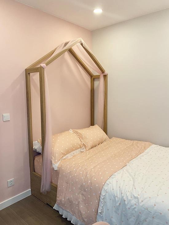 Phòng ngủ của bé Kỳ Kỳ