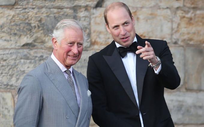 Thái tử Charles và William sẽ chủ trì cuộc họp của hoàng gia trong thời gian tới. Ảnh: PA.