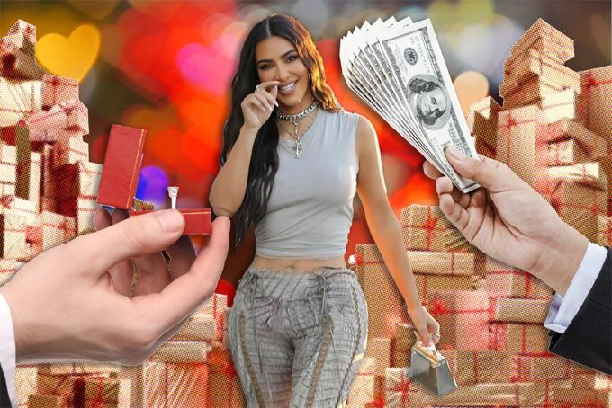 Kim Kardashian được Pagesix miêu tả là nữ tỷ phú độc thân được thèm khát nhất thế giới.