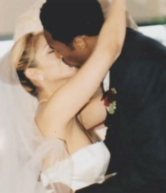 Vợ Kobe Bryant đăng ảnh ngày cưới 20 năm trước. Ảnh: Instagram.