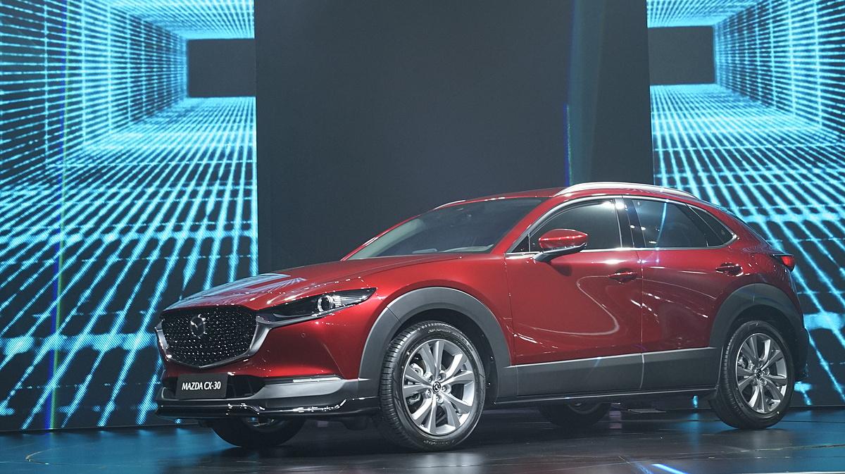 Mazda CX-30 ra mắt tại Chu Lai sáng 20/4