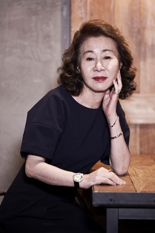 Nghệ sĩ Youn Yuh Jung.