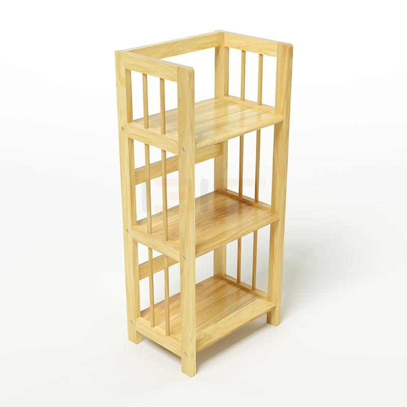 Kệ sách ba tầng HB360 Ibie có kích thước và chất liệu tương tự mẫu HB340. Màu gỗ sáng kèm vân gỗ tự nhiên mang lại dáng vẻ hiện đại, hợp với nhiều không gian nhà ở. Sản phẩm có giá 658.630 đồng, giảm 37% so với giá gốc.