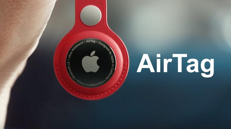 Thẻ định vị Airtag ra mắt trong buổi giới thiệu sản phẩm của Apple.