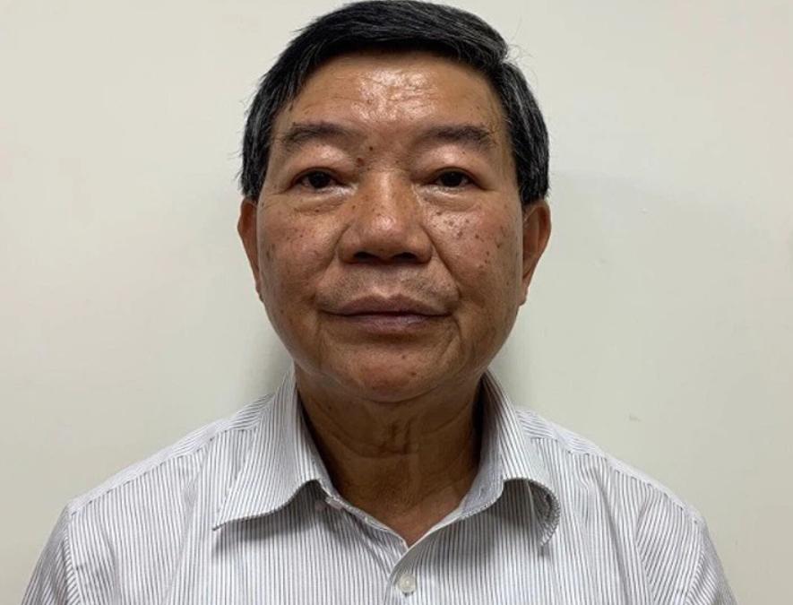Bị can Nguyễn Quốc Anh - nguyên Giám đốc Bệnh viện Bạch Mai