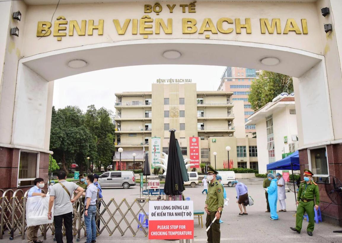 Bệnh viện Bạch Mai (Ảnh minh hoạ)