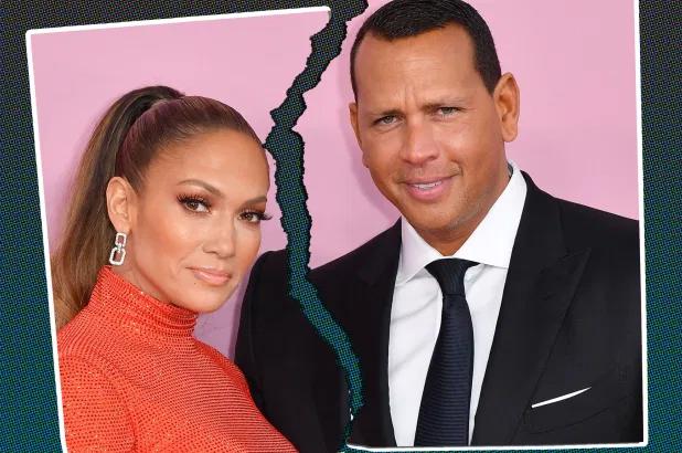 J.Lo và Alex thông báo chia tay khi cô đang quay phim ở Cộng hòa Dominica.