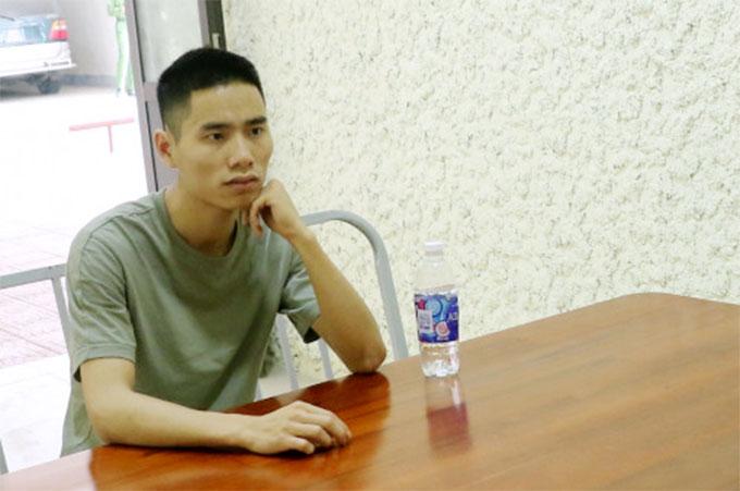 Nguyễn Hữu Hiếu, một trong hai nghi can cầm đầu đường dây. Ảnh: Công an cung cấp