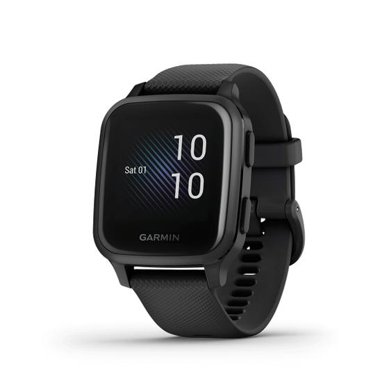 Đồng hồ thông minh Garmin Venu Sq Music 5.494.000đ(- 11 %)Xuất xứ :    MỹBảo hành :    12 thángMàu sắc :    Xám,Trắng,Đen,Xanh,Trắng - Hồng,Xanh rêuĐồng hồ thông minh Garmin Venu Sq Music với màn hình sáng màu, đồng hồ thông minh Venu Sq phiên bản âm nhạc GPS kết hợp phong cách hàng ngày và lưu trữ nhạc trên thiết bị với các tính năng theo dõi sức khỏe và thể chất truyền cảm hứng để bạn tiếp tục di chuyển.- Theo dõi sức khỏe và chăm sóc sức khỏe ngay trên cổ tay không còn gì hoàn hảo hơn điều này.- Để điện thoại ở nhà. Danh sách nhạc và nhạc yêu thích ngay trên cổ tay của bạn.- Chạy, đi bộ, đạp xe, chơi golf - chọn hơn 20 ứng dụng thể thao có sẵn.- Hãy để đồng hồ lên kế hoạch luyện tập cho bạn, bao gồm yoga, các bài tập sứ bền, tim mạch, thậm chỉ cả Pilates.- Màn hình màu sáng và thời lượng pin lên đến X ngày? Vâng - Hơn 2 lý do để yêu thích chiếc đồng hồ này.