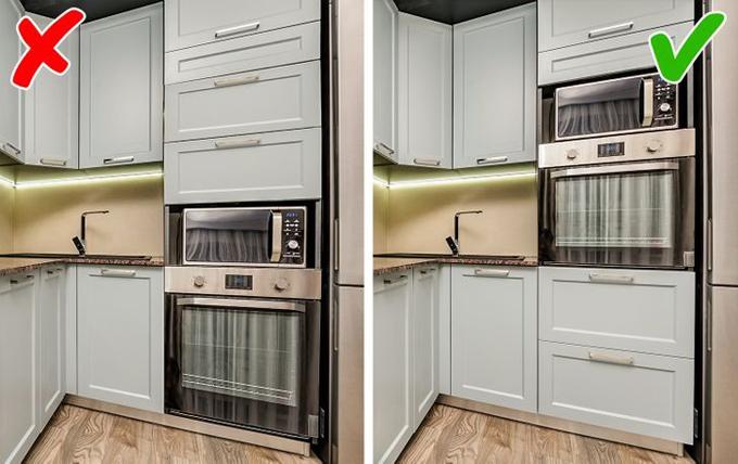 9 sai lầm nội thất phòng bếp