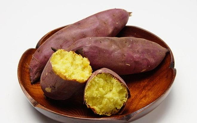 Khoai lang được coi là thực phẩm vàng giúp giảm cân.