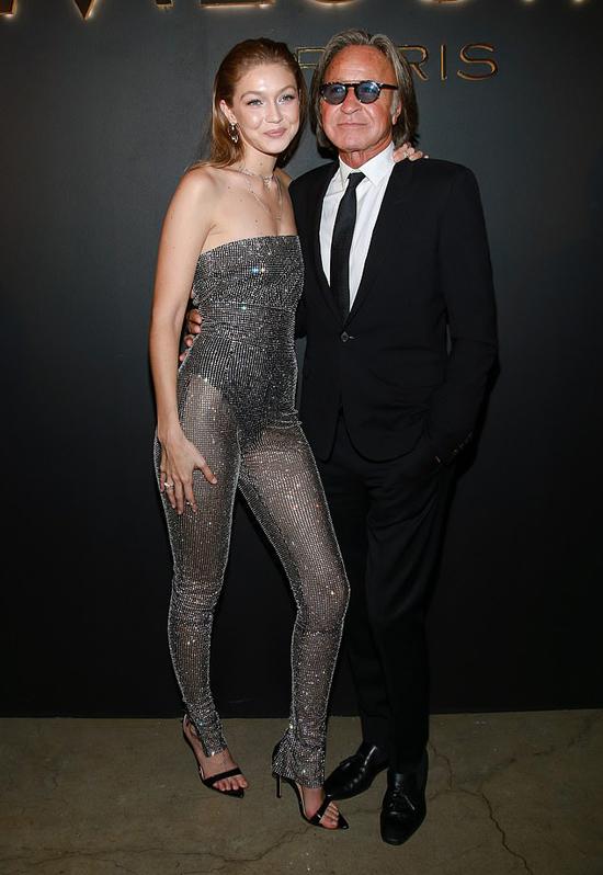 Gigi Hadid và bố, doanh nhân Mohamed Hadid.