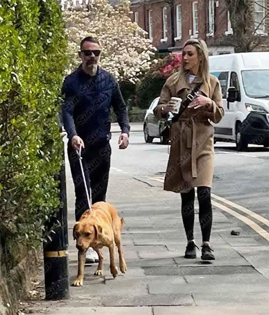 Giggs có bạn gái mới sau chưa đầy nửa năm chia tay tình cũ Kate Greville trong ồn ào. Ảnh: The Sun.