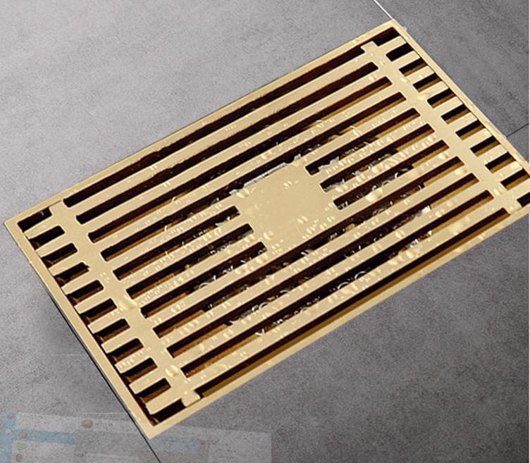 Phễu thoát sànZento ZT558-1màu vàng, làm từ chất liệu đồng hợp kim không bị gỉ sét, không bị cong vênh hay móp méo. Sản phẩm thiết kế ống xả 2 lớp, đọng lại nước để ngăn mùi và côn trùng từ đường ống. Hai lớp lưới lọc ngăn tóc, rác... lọt xuống. Kích thước 90 x 140 x 100 mm (rộng x dài x cao) phù hợp với các đường ống thoát nước có đường kính 50 - 85 mm. Sản phẩm bảo hành 12 tháng, đang bán với giá ưu đãi 31% là 315.000 đồng.