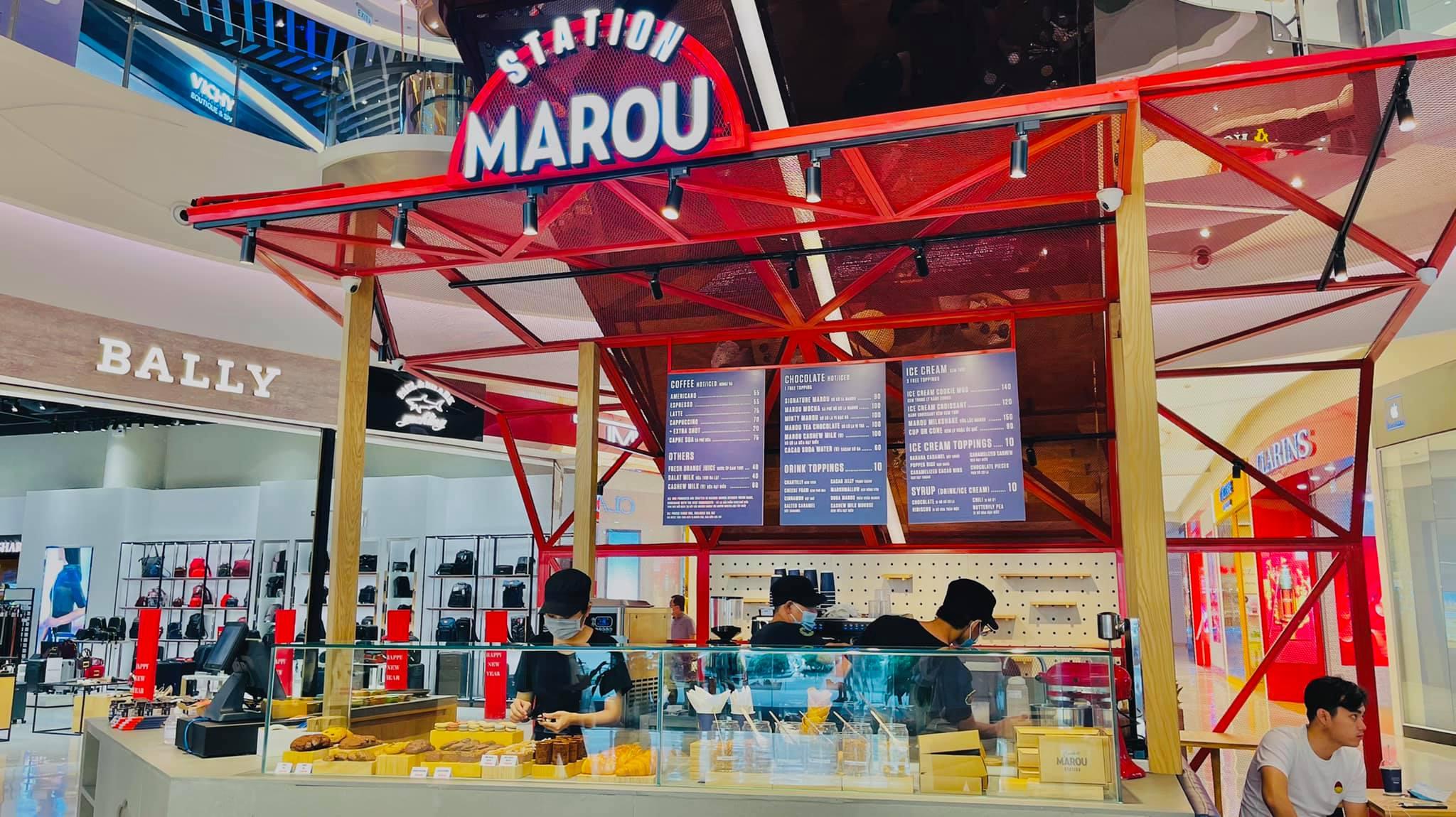 Xưởng bánh ngọt Marou Station sẵn sàng đón khách dịp lễ.