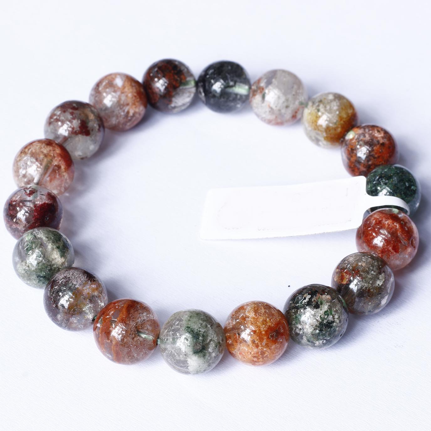 Vòng tay trơn đá thạch anh ưu linh đa sắc size hạt 10mm - Ngọc Quý Gemstones - Nhiều màu - Freesize 1.500.000đ(- 20 %)Bảo hành:24 tháng